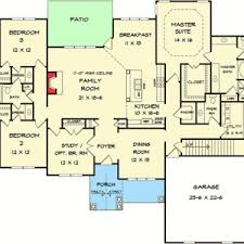 corner lot floor plans bedroom story house plans floor split six craftsman corner