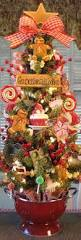 88 best kitchen christmas decorating ideas images on pinterest primitive gingerbread cookie baking tree in red colander w lights by denise