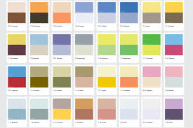Pantone Color Scheme Pokémon Characters Represented By Their Pantone Shades