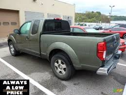 nissan frontier xe king cab 2005 nissan frontier xe king cab in canteen metallic green photo