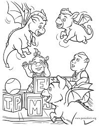 shrek dronkeys playing ogre children shrek fiona