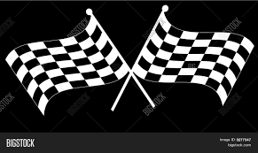 Checkered Flag Eps Checkered Flag Two Crossed On Vector U0026 Photo Bigstock