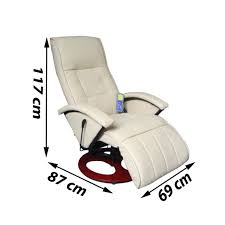 Living Room Chair Height Aliexpress Com Buy Ikayaa Electric Chair Massage Cream And White