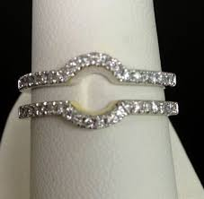 Wedding Ring Wraps by Contoured Wedding Band Around Engagement Ring Google Search