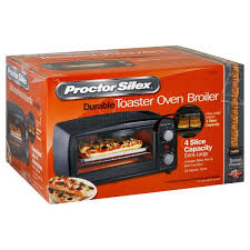 Proctor Silex Toaster Oven Reviews Proctor Silex Durable Toaster Oven Broiler Durable Black