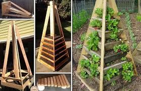 how to diy vertical wall garden planter