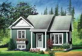 small bi level home plan nice home zone