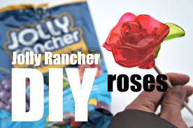 Enchanted Rose That Lasts A Year Diy Jolly Rancher Candy Roses Youtube