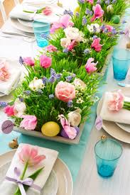 20 wonderful table decorations for a lovely easter brunch
