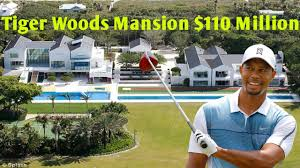 tiger woods house tiger woods mansion in florida 110 million youtube