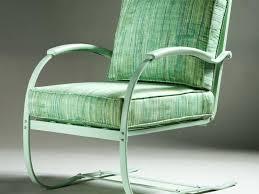 Metal Sofa Glider Retro Patio Chair Cushions Retro Outdoor Glider Chair Mid Century