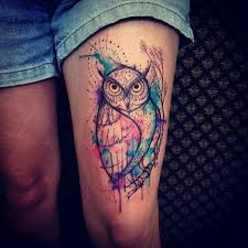 tattoo pictures color 50 inspirational owl tattoo ideas that are unique