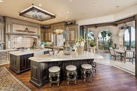 Large Kitchen With Island Fascinating Luxury Kitchens Photo Decoration Ideas Tikspor