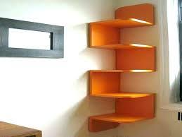Corner Wall Bookcase Modern Corner Bookshelf Corner Shelves Wall Large Corner Wall