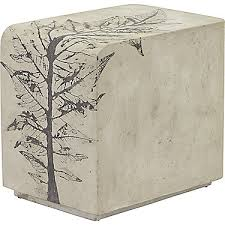 Concrete Side Table Mcguire Furniture Rectangular Concrete Side Table No Phc 978
