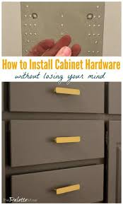 where is the best place to put knobs on kitchen cabinets how to install cabinet hardware without losing your mind