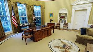 Gold Curtains In The Oval Office 4 Ways The Oval Office Isn U0027t Like The Corner Office It U0027s All