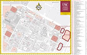 Texas State University Campus Map by Tickets Parking Usc Athletics Sca 2015 Travel And Maps Usc