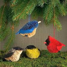 audubon fisher wildlife like bird ornament collection