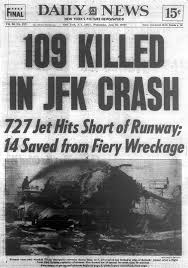 Map Of Jfk Airport New York by Jet Crashes At Kennedy Airport During A Thunderstorm In 1975 Ny