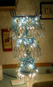Outdoor Chandelier Diy Diy Outdoor Chandelier For Gazebo Eclectic Other