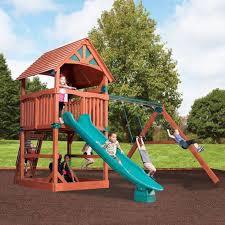 quality swing sets and trampolines birmingham alabama backyard