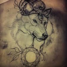 wolf tattoo sketch tattoomagz