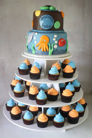 cupcake magnificent baby shower pastries baby cake designs for