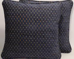 Home Decor Throw Pillows Blue Throw Pillow Etsy