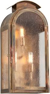 Outdoor Brass Lights Troy Bf4403hbz Copley Square Traditional Solid Brass Fluorescent