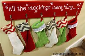 Christmas Stocking Decorations Diy Stockings From Thrift Store Sweaters Find It Make It Love It