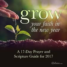 thanksgiving prayer for all the blessings grow your faith in the new year a 17 day prayer and scripture