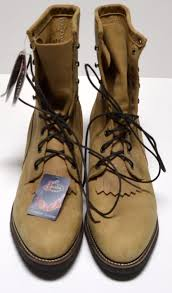s lace up boots size 12 sold justin lace up tekno ropers boots size 12 d beige