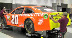 photo matt kenseth orange lets do this home depot paint scheme at