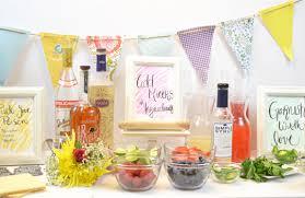 diy craft cocktail station flower glass charms u2013 craft box girls