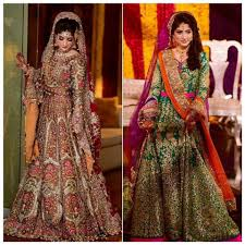 bridal collection ali xeeshan bridal dresses collection 2016 2017 colors