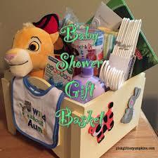 baby shower gift basket pink glitter pumpkins
