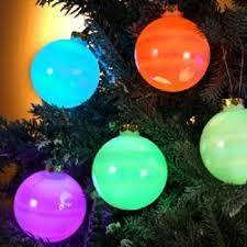 kurt s adler led balls light up ornaments for inside tree