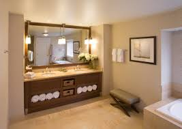 Spa Bathroom Decorating Ideas Bathroom Gorgeous Beige Bathroom With Spa Decorating Idea Also