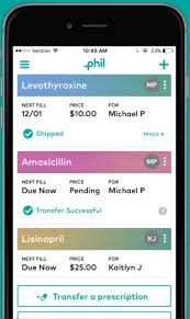 delivery service app phil gets 10m for app enabled prescription delivery service