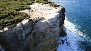 wedding cake rock sydney australia s wedding cake rock may collapse into the sea cnn travel