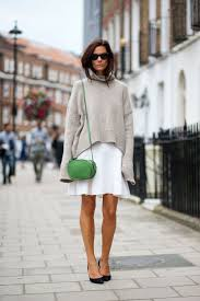 50 ways to wear white skirts in winter u2013 closetful of clothes