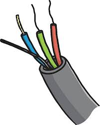 flash clipart electrical wire pencil and in color flash clipart