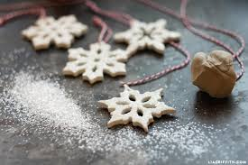 clay snowflake ornaments lia griffith