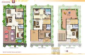 Vastu Floor Plans South Facing West Facing House Vastu Plan India
