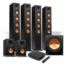 home theater systems wireless klipsch reference premiere hd wireless 6 1 floorstanding system w