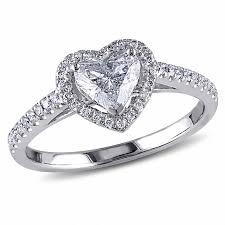 heart shaped wedding rings heart wedding zales