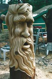 awesome wood stump carvings sculptures 25 michael bradley time