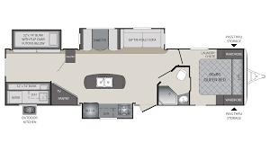 Keystone Floor Plans by 2018 Keystone Premier 34bhpr Model