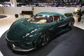 koenigsegg qatar koenigsegg regera hybrid hypercars made mega debut at geneva